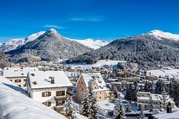 Alp dağları görülmeye değer Davos