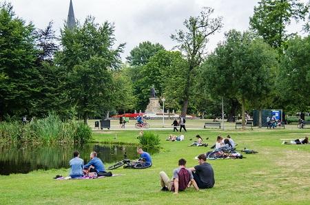 Amsterdams Vondelpark -