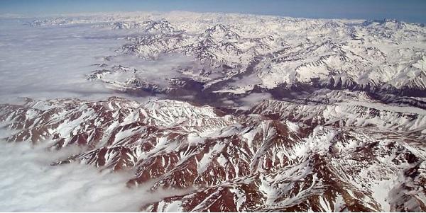 And Dağları-Dünyanın en uzun ve yüksek sıradağlar zinciri