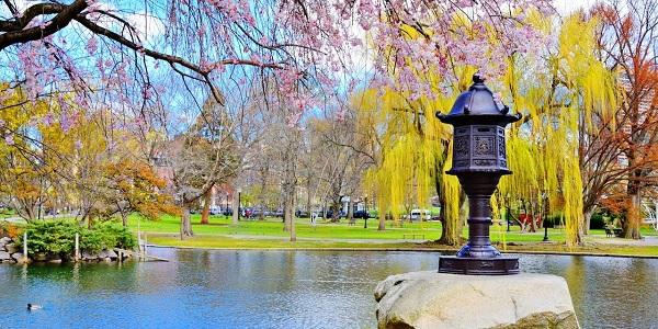 Boston'da Dünyanın en iyi parkları ve yeşil alanları