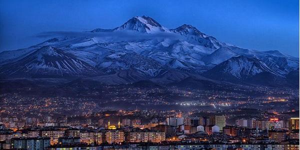 Erciyes Dağı-Doğa harikası Türkiye'nin 5'inci büyük dağı