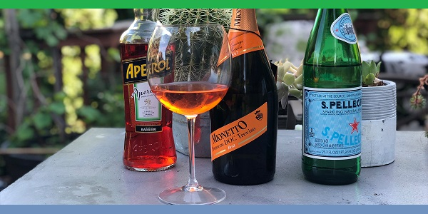 Trieste kentinde İtalyanın tercih edilen yaz içeceği Spritz