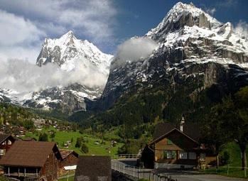 alp dağları ve vadileri