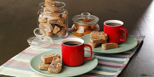 Biscotti-Badem ve Kestane şekeri