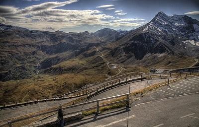 Grossglockner Yüksek Alp Yolu-Avusturya