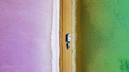 MacDonnell Gölü, Eyre Yarımadası