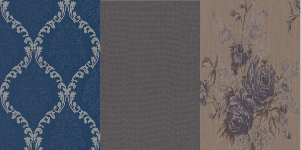 Doğal ve Sentetik tekstil duvar kağıtlarıyla şık görünümler