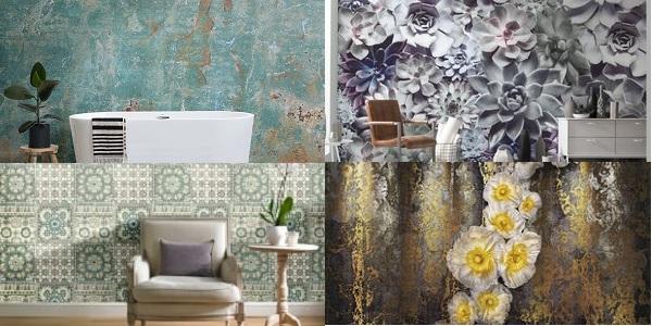 Evinizi metal duvar kağıtlarıyla döşeyin otantinizmle keyiflenin...